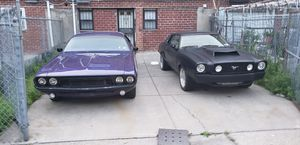 73 challenger 78 mustang needed gone asap price is for each. (Just wanted one simple ad not two) for Sale in Brooklyn, NY