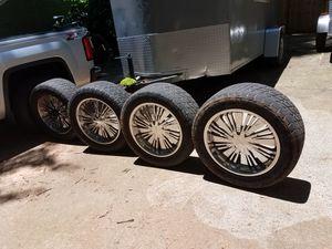 20 inch Chrome rims for Sale in Marietta, GA