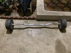 80 lbs fix ez curl bar GPI brand for Sale in Fullerton, CA