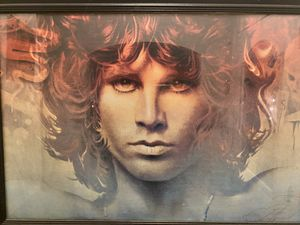 Xl Jim Morrison framed picture for Sale in Langhorne, PA