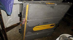 10 inch dewalt table saw for Sale in Long Beach, CA