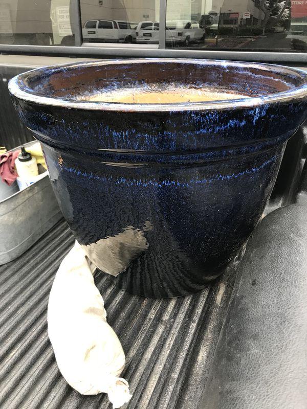 Big ceramic pot
