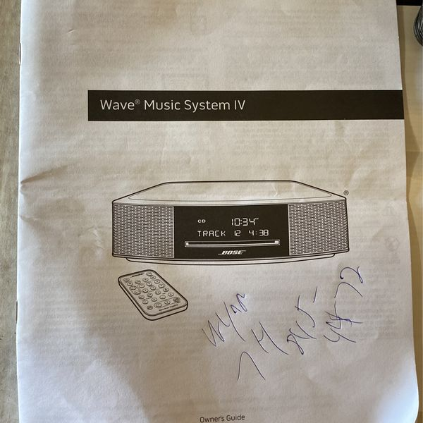 Bose Wave Music System IV 🔥 with REMOTE, AM / FM RADIO - CD PLAYER