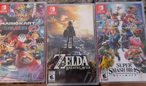 Nintendo switch games. for Sale in S CHESTERFLD, VA