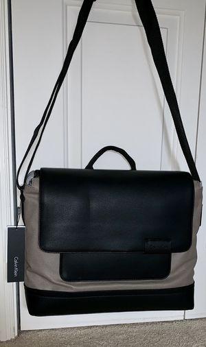 🔥NEW🔥 Calvin Klein Messenger Bag Leather Travel Case for Sale in Purcellville, VA