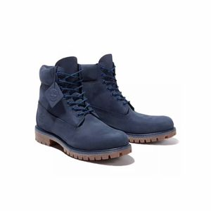 TIMBERLAND 6 inch Boots Navy Blue (TB06718B 484), New with box for Sale in Alexander, WV