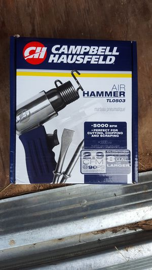 Campbell Hausfeld Air Hammer for Sale in Crocker, MO