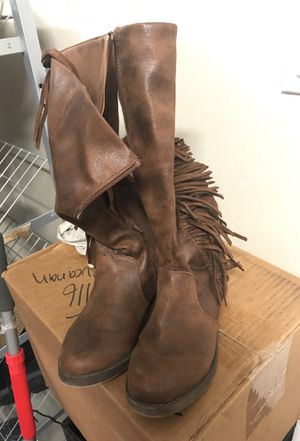 Fringes boots for Sale in Oakley, CA