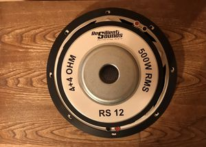 12 inch Subwoofer Resilient Sounds for Sale in Charlotte, NC