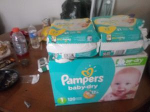 Pampers for Sale in East Cleveland, OH