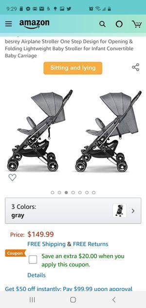 Besrey baby stroller for Sale in Davie, FL