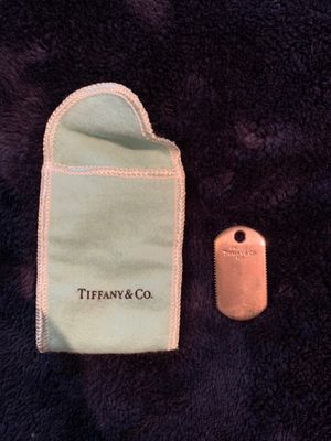 Tiffany and co dog tag 925 silver for Sale in Auburn, GA