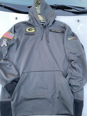 Green Bay packers Nike salute to service NFL Hoodie/ men.. Not Free for Sale in Cayce, SC