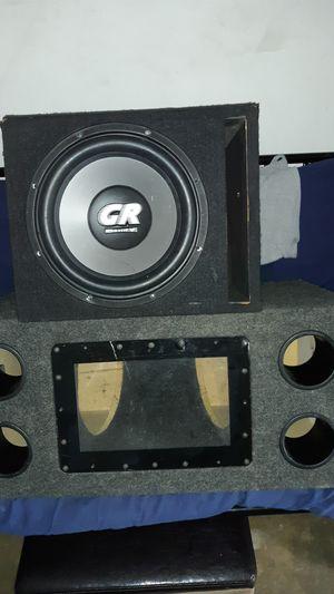 "1 box for 2 12's/ & 1 12 "" sub 3000 watts for Sale in Pomona, CA"