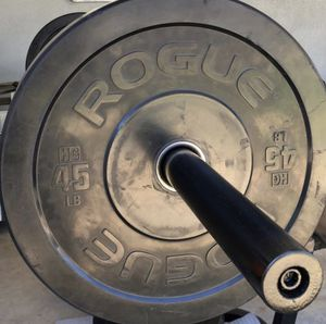 Rouge Olympic Bumper Plates for Sale in Lathrop, CA