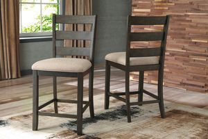 Ashley Furniture Counter Height Bar Stool , Rustic Brown Finish for Sale in Santa Ana, CA