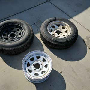 """14"""" Trailer Rims And Tires for Sale in Ceres, CA"""