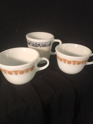 Pyrex coffee cups for Sale in Durham, NC