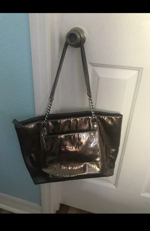 Michael Kors Bronze Patent Leather Tote for Sale in Abilene, TX