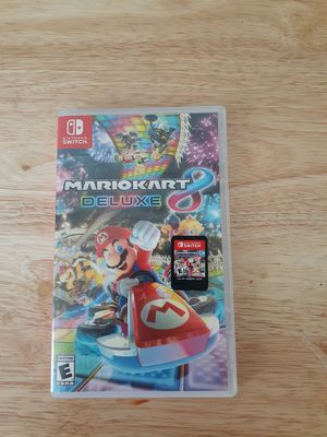 Mario Kart Deluxe 8 (Nintendo Switch) for Sale in Tucson, AZ