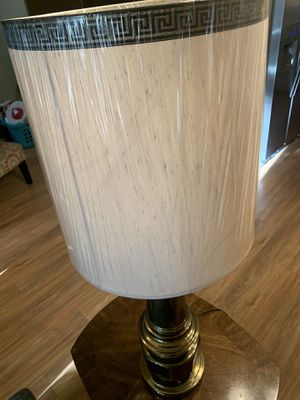 Antique Lamp - Still has plastic cover over shade! $45 - OBO for Sale in Brush Prairie, WA