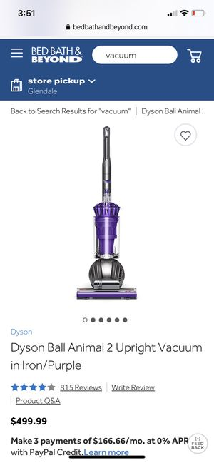 Dyson ball animal 2 vacuum for Sale in Denver, CO