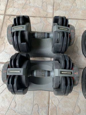 Bowflex select weights 20lb dumbbells for Sale in Miami, FL