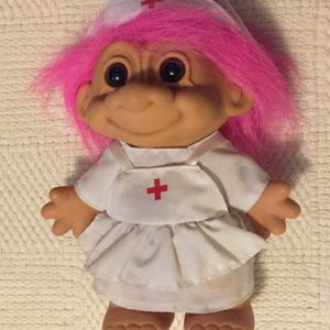 8 Inch Vintage Russ Nurse Troll Doll for Sale in St. Peters, MO