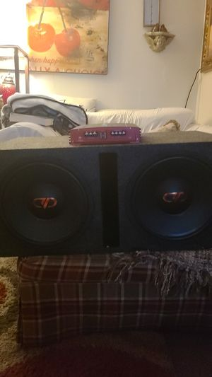 Car speakers bass for Sale in Canton, GA
