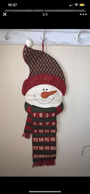 Brand New snowman calendar for Sale in Colton, CA