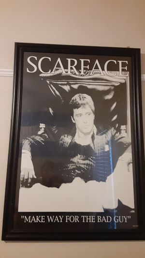 Scarface Framed for Sale in Los Angeles, CA