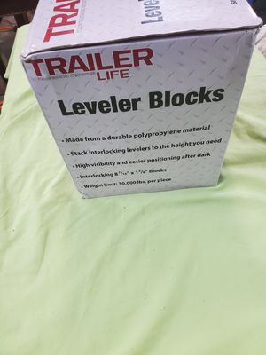 Rv leveling blocks for Sale in Marvin, NC