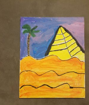 Pyramid painting for Sale in Garland, TX