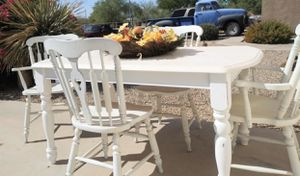 Farmhouse table with 4 chairs for Sale in Mesa, AZ