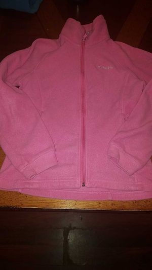 Girls Columbia zip up fleece size 10/12 for Sale in Waterford, PA