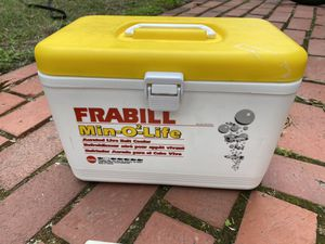 Bait bucket electric oxygenated Frabil Min-O2-Life for Sale in Alexandria, VA