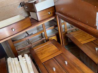 Twin Bed Set Excellent Condition Dresser Mirror Under Bed Storage for Sale in Norwalk,  CT