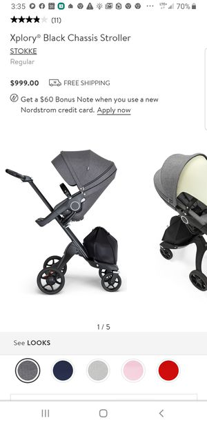 Stokke stroller, regular price is $999. Used asking $300 firm. for Sale in Bakersfield, CA