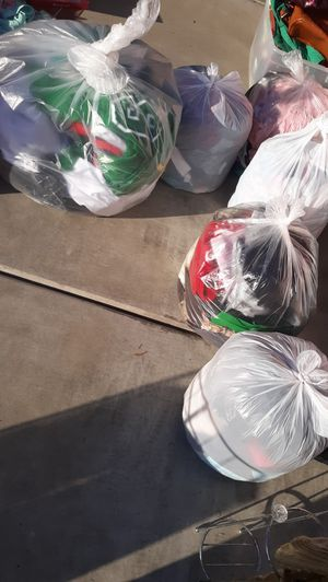 3 bags of woman clothes.multi styles and size. for Sale in Reedley, CA