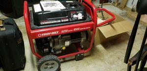 Troy Bilt Portable Generator 8500 Starting Watts 6250 Watts for Sale in Fort Lauderdale, FL