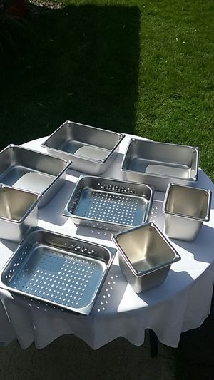 Steam table pans for Sale in Roseville, MN