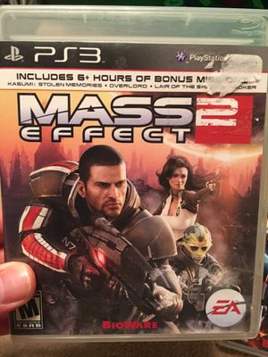 Mass Effect 2 (PS3) for Sale in Fairfax, VA