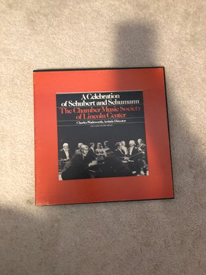 4 record set, A celebration of Schubert and Schumann for Sale in Puyallup, WA