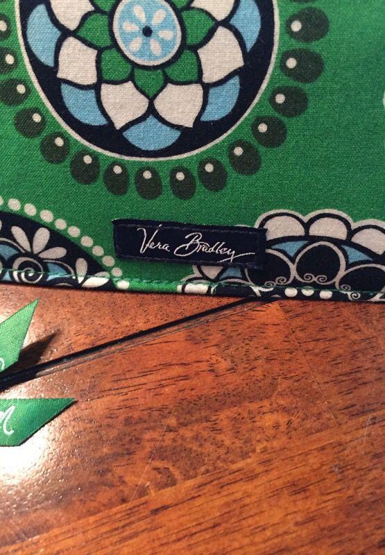 Vera Bradley Hobo Bag Purse & CB Cover