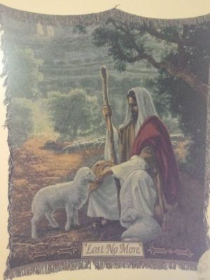Jesus blanket for Sale in Sidney, OH