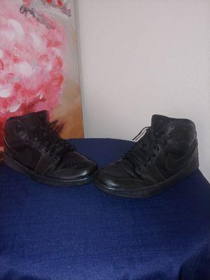 Air Jordan 1 Retro Black Size 11 for Sale in Houston, TX