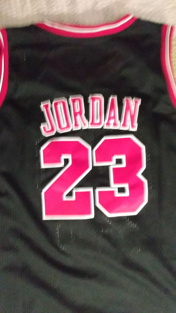 4xl #23jordan black red jersey nike