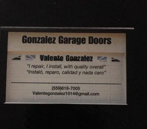 Arreglos de garage/ Garage door repair for Sale in Fresno, CA