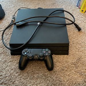 PS4 Pro And Steelseries headset for Sale in Tempe, AZ