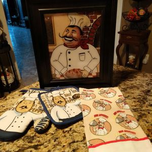 Chef Kitchen Decor for Sale in Houston, TX